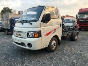 xe tải JAC X150 mui bạt thung 3m2