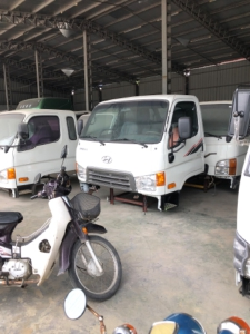 Bán cabin xe tải Huyndai, nóc cao dongfeng