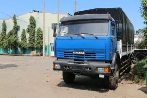 Xe tải thùng Kamaz 43265 (4x4) - Thùng đóng