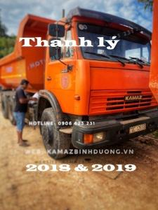 Bán nhanh 4 xe ben Kamaz 15 tấn 2018 & 2019 đẹp như xe hãng