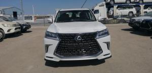 Bán Lexus LX570 Super Sport 2021, 8 chỗ, màu trắng, nội thất da bò. Giá siêu tốt.