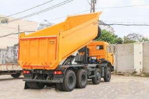 KAMAZ Tải Ben 6540 (8x4) 4 chân thùng Ovan (Thùng đúc)