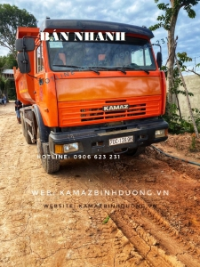 Bán xe ben Kamaz cũ 15 tấn (4 xe)  12m3/ Xe đăng kí 2018 và 2019 còn rất mới, Bán ben kamaz 2018 2019