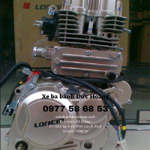 Cục máy xe ba gác Động cơ Loncin 125cc,...