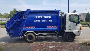 Cần bán Xe ép rác, chở rác 9 khối Hino - Giao xe ngay