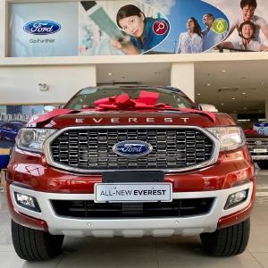 Ford Everest Bi Tubor 2021 Đủ màu giao ngay.