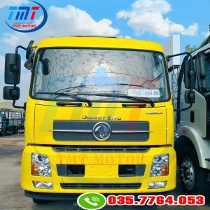 Xe tải Hoàng Huy B180 thùng dài 7m5 và 9m5 chở pallet, bao bì giấy