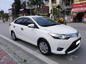 Cần bán xe Vios 2018, bản G, số tự động, màu trắng còn mới tinh