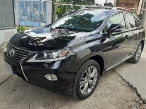 Nhà tôi cần bán Lexus RX350 2013 màu đen, nhập Nhật, full option, xe cực lướt