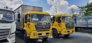 Xe tải Dongfeng B180 8 tấn thùng 9,7 mét| Tải nặng - Máy khỏe