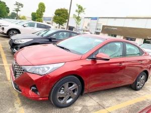 Hyundai Accent 2021 giao xe tháng 1