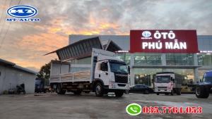 Xe tải 9 tấn thùng 9m7 nhập khẩu chở pallet, linh kiện điện tử, mốp xốp