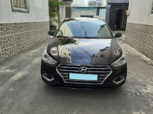 Gia đình cần bán xe Hyundai Accent 2019 đk 2020 số tự động, màu đen huyền cực mới