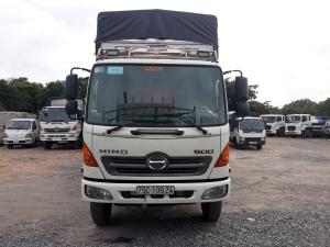 Xe tải Hino FC đời 2016 tải 5t75 thùng dài 6m giá rẻ/hỗ trợ góp/tphcm
