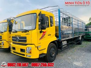 Xe tải 8 tấn thùng dài 9.5 mét - Xe tải Dongfeng B180 Thùng dài chở bao bì mút xốp - Xe Dongfeng Hoang Huy 8 tấn