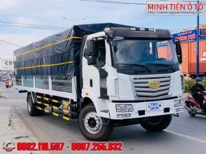 Xe tải 8 tấn thùng dài 9.7 mét - Xe tải Faw 8 tấn thùng chở bao bì - Xe tải Faw 8 tấn thùng chở mút xốp