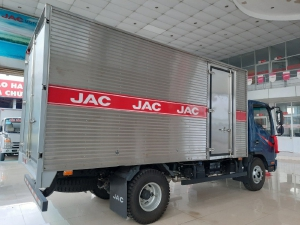 Xe tải Jac N350 thùng kín | jac 3.5T | xe tải jac 3 tấn 5 bảo hành 5 năm động cơ Đức