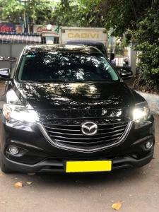 Mình cần bán Mazda CX9 2016 dk 2017, tự động, hai cầu, màu đen
