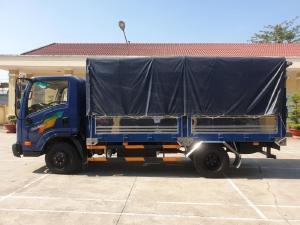 Xe Tera245l thùng 4m3, động cơ Isuzu, tải 2.4 tấn