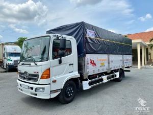 HINO FC Thùng mui bạt - 5M7 - 6M7 - 7M2
