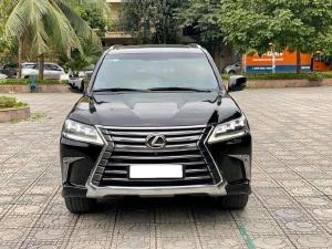 Về hưu cần bán xe Lexus Lx570, sản xuất 2016, số tự động, bản full màu đen