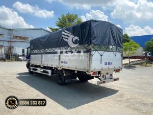 Isuzu NQR550 thùng bạt- kín - Trả góp 80%