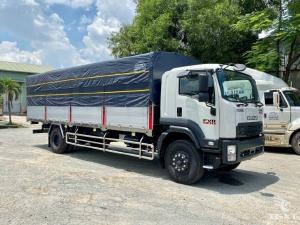 Xe tải Isuzu 7T5 thùng dài 9m6| xe tải isuzu 7.5T| xe tải isuzu 7,5 tấn | xe tải isuzu FVR74U tải 7t5 trả góp