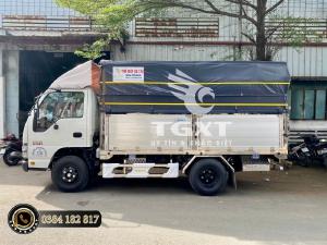 Isuzu QKR230 thùng bạt, bửng nhôm Nhật Bản