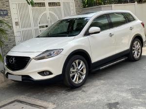 Gia đình cần bán Mazda CX9  tự động 2014 màu trắng bản full rất mới