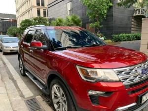 Ford Explorer Đỏ 219 đk 2020 Phong Cách Đầy Mạnh Mẽ.