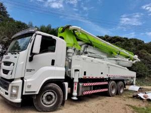 Mua bán xe bơm bê tông Isuzu đã qua sử dụng - Giá xe bơm bê tông Isuzu cần 47m từ Hà Nội