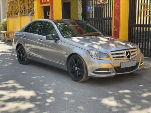 Bán Mercedes C200 2012 tự động màu Xám full.
