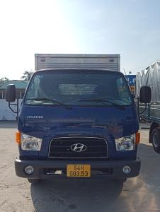 Hyundai New Mighty 110SL - Thùng kín full Inox chở hải sản