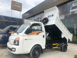Cần bán xe tải Hyundai Porter H150 1.5 tấn 2021 Thùng Ben, xe sẵn giao ngay