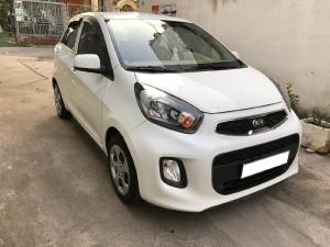 Gia đình cần bán xe Kia Moring 2018, động cơ 1.2L, số sàn, màu trắng còn mới tinh