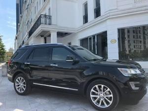 Gia đình cần bán Ford Explorer limited 2017, số tự động, máy xăng 2.3L Ecoboost I4, màu đen nhập Mỹ