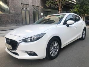 Mazda 3 HB 2018 , trắng ngọc trinh , xe ô tô cũ đã qua sử dụng