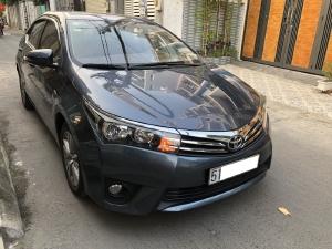 Mình bán Toyota Altis 2015, tự động 1.8, phom mới, màu xám xanh