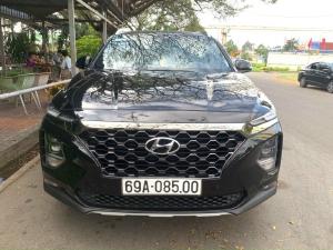 Hyundai Santafe 2.4AT 2 cầu , máy xăng , hỗ trợ Bank nhanh gọn , giá TL khi xem xe