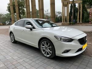 Mazda 6 2016, bản Full 2.5, số tự động, màu trắng