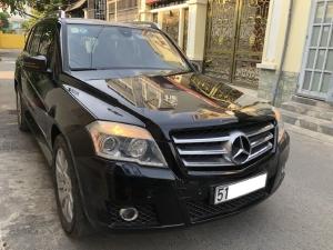 Mercedes GLK 280 2010, số tự động, màu đen