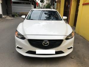 Mazda 6 Premium 2017 2.5AT, màu trắng