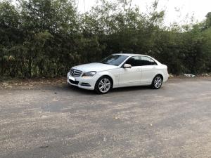 Mercedes C200 2012, số tự động, màu trắng