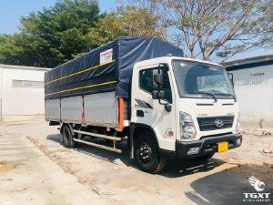 Xe tải Hyundai EX8L thùng 5m7/ xe tải 7t3 chỉ cần trả trước 10-20% chìa khóa trao tay