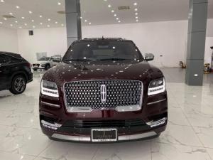 Bán xe Lincoln Navigator L Black Label, màu đỏ mận, sản xuất 2021 mới 100%, xe có sẵn.