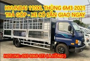 Giá Xe Tải Hyundai 110XL 7 Tấn Mui Bạt 6M3  - Mighty 110XL 6M3 2021