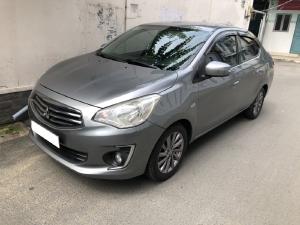 Mitsubishi Attrage đời 2018, số sàn, xe nhập khẩu Thái Lan, màu xám