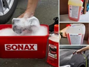 Nước rửa xe Sonax giá bao nhiêu? Địa chỉ bán nước rửa xe Sonax bọt tuyết, không chạm TPHCM