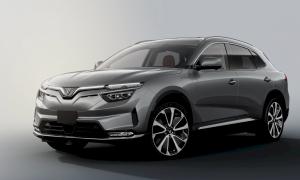 Lộ diện VF e35 - mẫu xe ô tô điện thứ hai của VinFast