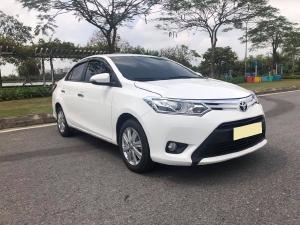 Cần bán Toyota Vios 2018, số tự động, Bản G, màu trắng